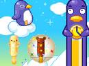 小企鹅做冰淇淋