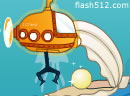 潜水小飞机取宝箱