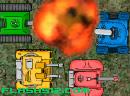 七彩小坦克守城