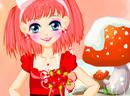 甜美的女娃娃
