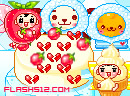 冰仙子做草莓蛋糕