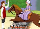公主骑马救情人!