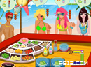 Jessica's Beach Salad Bar