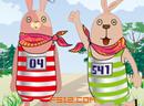 监狱兔做衣服穿