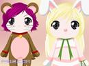 可爱娃娃COS动物