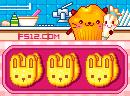 做动物脸小蛋糕