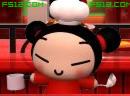 中国娃娃卖炸酱面