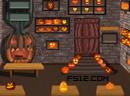 Halloween Pumpkin Room