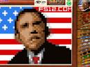 奥巴马的十字绣