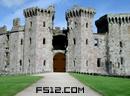 逃出断壁残垣城堡