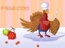 恶搞圣诞火鸡
