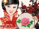 中国古风旗袍