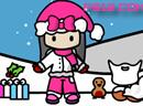 卡通娃娃的寒假