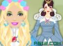 芭比女孩公主裙