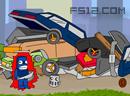 废铁机器人守城