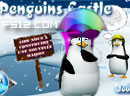 Penguins Castle Girl Game