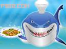 健康的鱼沙拉