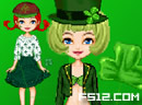 St. Patricks Day Dressup
