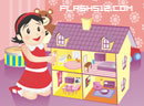 娃娃盖座玩具屋