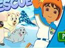 Go Diego Go Snowboard Rescue