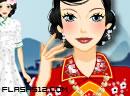 中国旗袍-烟雨苏州