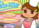 帮小美女做蛋糕