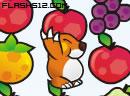 贪婪鼹鼠搬水果