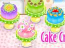 做水晶七彩蛋糕