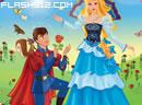 打扮公主,王子要求婚