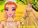 Golden Bride dress up