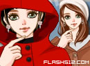 Red flirtatious