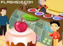 男孩经营蛋糕店