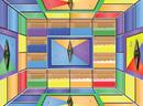 逃出彩色方块监狱