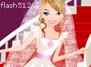 美丽新娘拍婚纱照