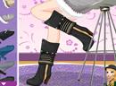 艾娃的性感冬靴