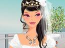 东方时尚婚纱新娘
