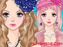 Pink Fur Tee Dress