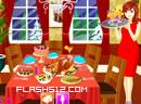 布置节日家宴