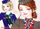 Korean air hostesses