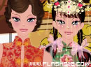 China costume dressup game