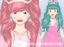 甜美粉红公主
