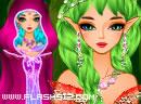 绿光森林妖女