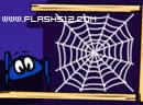 画线让蜘蛛上网