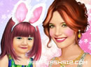 Suri and Katie Cruise Makeup