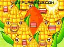 麦田收玉米