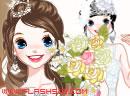 纯洁新娘白色婚纱