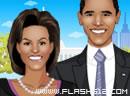 美国总统奥巴马夫妇