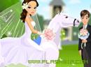 新娘骑着白马来~
