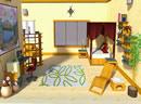 逃出木屋卧室