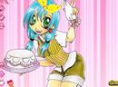 美女蛋糕店服务员